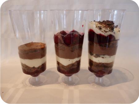 dessert met mascarpone en chocolade