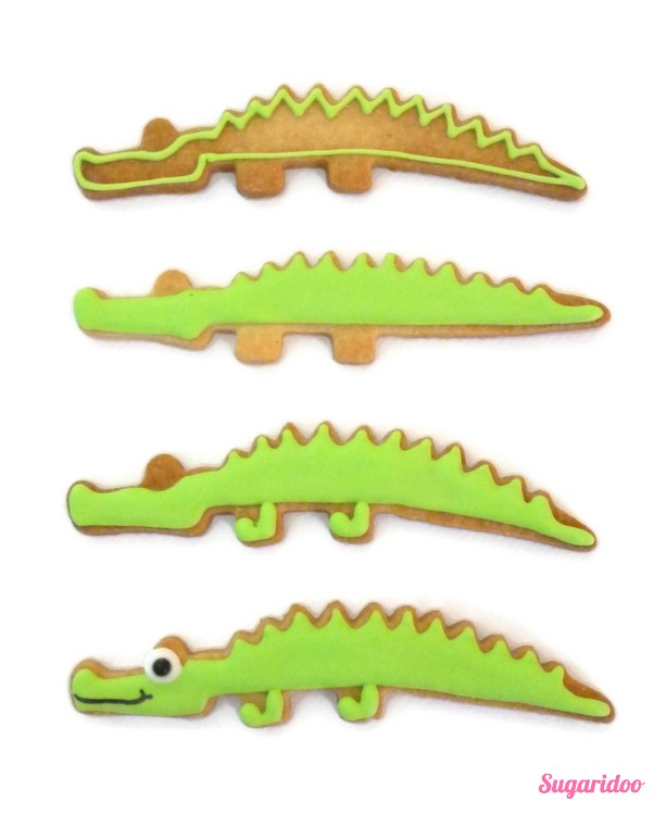 Croky krokodillen koekjes howto