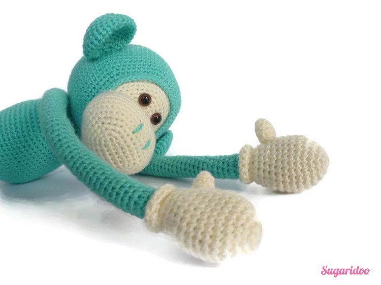 Mike Teh Monkey Crochet Pattern Sugaridoo